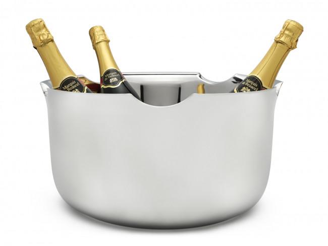 Champagneschaal Equip dubbelwandig rvs