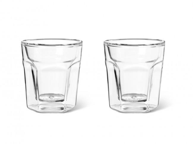 Dubbelwandig glas Espresso 100ml s/2
