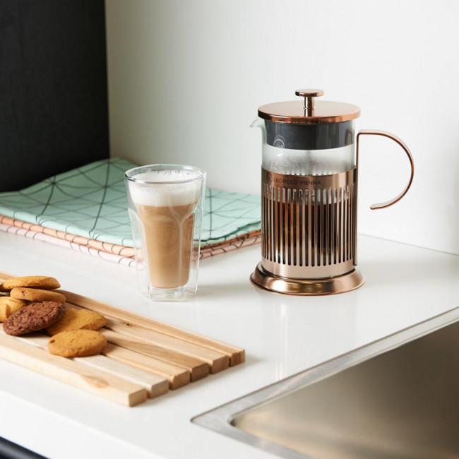 Koffiemaker French Press Koper 800ml