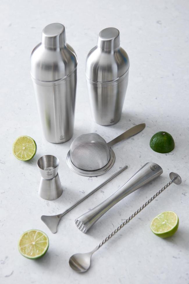 Cocktailshaker 700ml 3-delig