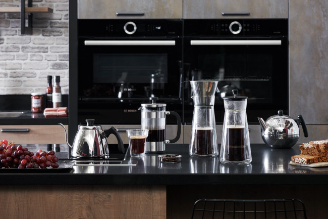 Koffiemaker / Slow coffee maker Piazza
