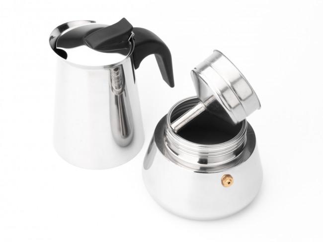 Espressomaker Trevi 6-kops rvs