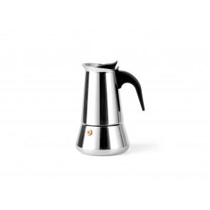 Espressomaker Trevi voor 4 kopjes, RVS
