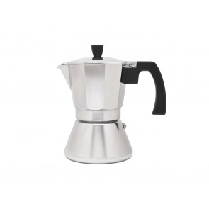 Espressomaker Tivoli aluminium 6 cups (inductie)